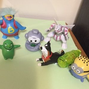 Assortment of small toys as shown in photos